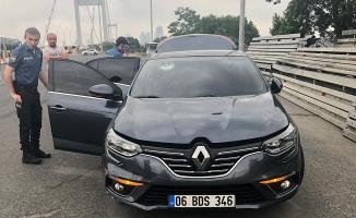 15 Temmuz Şehitler Köprüsü'nde makas terörü