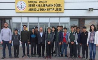 Çatalca Şehit Halil İbrahim Gürel Anadolu İmam Hatip Lisesi Yol Tarifi