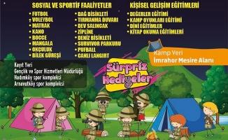 Arnavutköy Gençlik Kampı Kayıtları Başladı