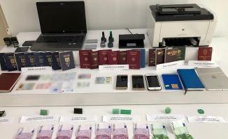 İstanbul'un sahte pasaport baronu yakalandı