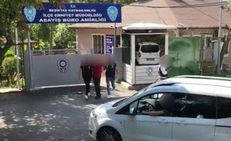 Beşiktaş'ta komşusunun evini gözetliyordu yakalandı