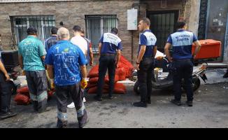 Beyoğlu'nda midye imalathaneleri mühürlendi