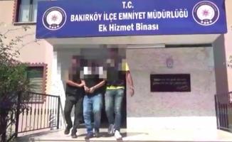 Bakırköy'de Lübnanlı iş adamını gasp edildi