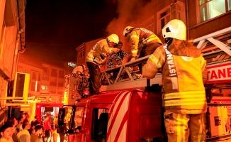 Fatih'te yangında can pazarı
