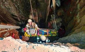 Şile'de can pazarı! İnşaattan düşen işçi böyle kurtarıldı