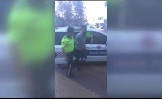 Beykoz'da asker uğurlamasında drift yapan sürücü gözaltına alındı