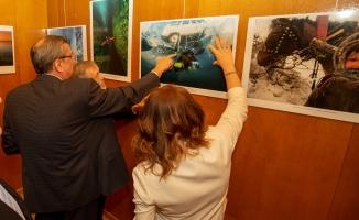 'Sibirya'dan İstanbul'a Sevgilerle' resim sergisi