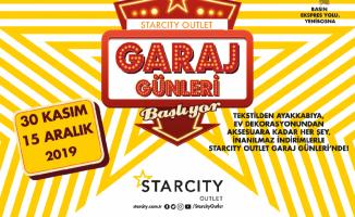 Starcity Outlet Garaj Alışveriş Günleri başladı