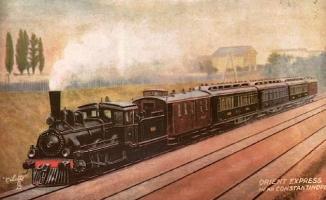 Paris'ten İstanbul'a Şark Ekspresi (Orient Express)