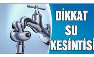 İstanbul'da 13 ilçede su kesintisi