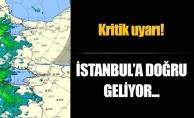 Meteoroloji'den İstanbul için yağış uyarısı!
