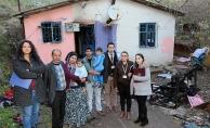 Ataşehir'de evleri yanan aileye belediye sahip çıkacak