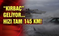 İstanbul'a 'Kırbaç' adı verilen kasırga geliyor