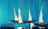 Tayfun Önel'in ''Bendeki Mavi'' Resim Sergisi