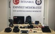 Sancaktepe'de hırsızlar suçüstü yakalandı