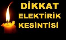 İstanbul'da elektrik kesintisine dikkat!