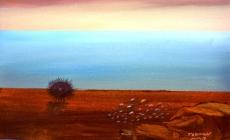 Teoman Südor'un 'Sonsuzluk' adlı resim sergisi