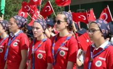 İBB'nin Uluslararası Yaz İzci Kampı