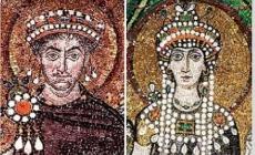 İmparator I. Justinianus ve Teodora