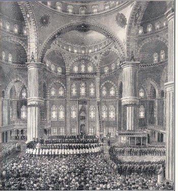 Sultanahmet Camii'nde mevlit.