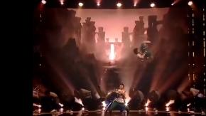 Jüriyi şaşkına çeviren dans gösterisi