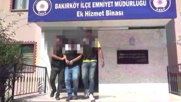 Lübnanlı iş adamını gasp eden zanlı yakalandı