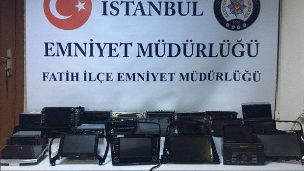 Fatih, Avcılar ve Bakırköy oto hırsızlık çetesi