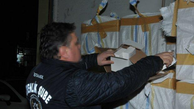 Başakşehir'de 40 milyon liralık sahte parfüm operasyonu