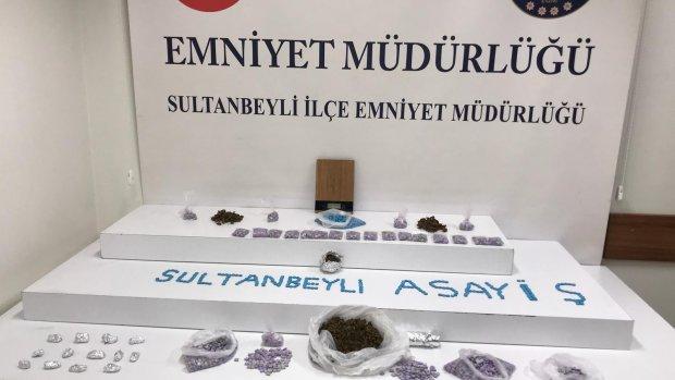 Sultanbeyli'de uyuşturucu satışı