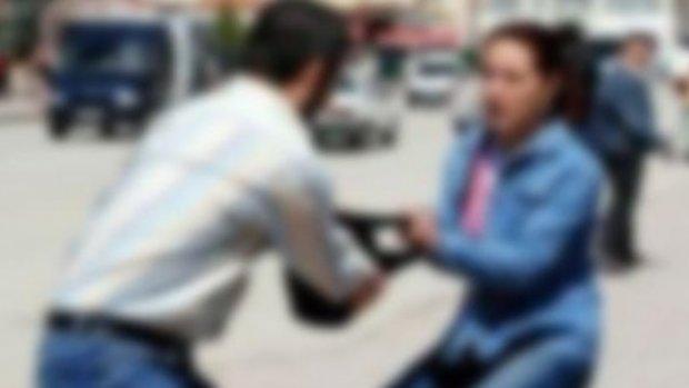 Bahçeşehir'de genç kadına kapkaç şoku
