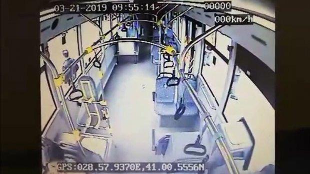 Beyazıt Otobüs Kazası Yeni Görüntü