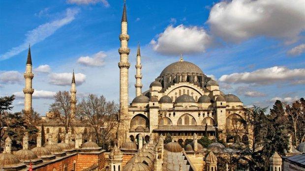 Süleymaniye Cami'nde hırsızlık